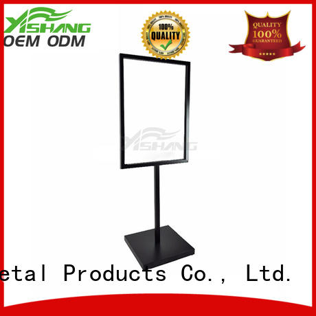 YSIHANG Brand table floor sign holder manufacture