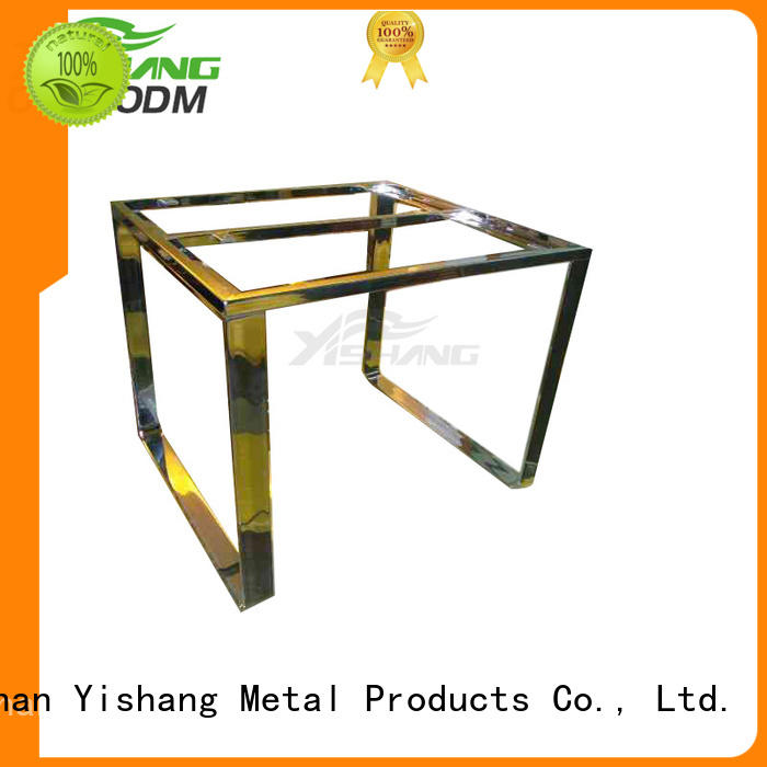 YISHANG Brand gold steel metal parts fabrication factory