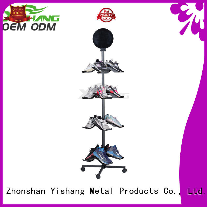 Wholesale ideas shoe display rack YSIHANG Brand