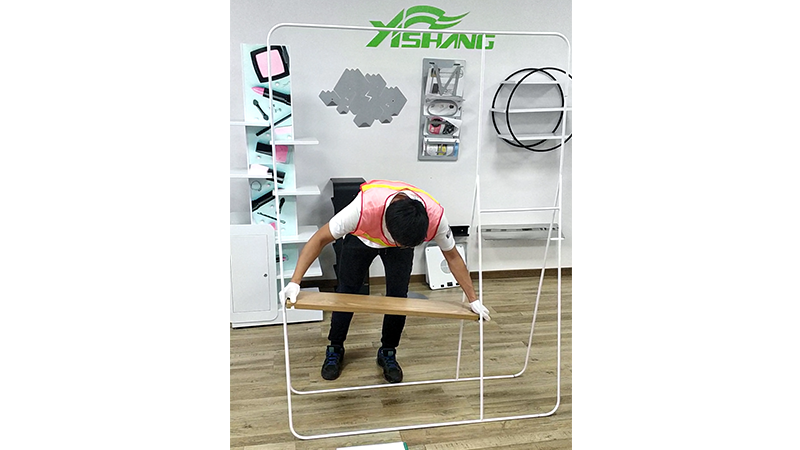 Clothes Rack Sample Trial Installation-YISHANG