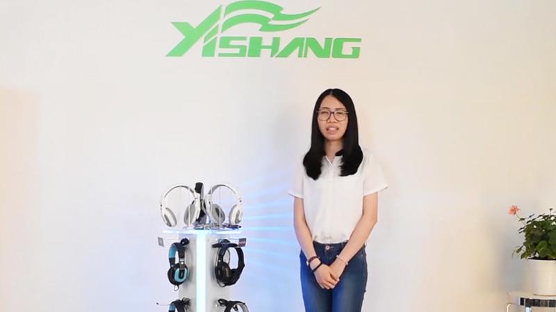 China Custom Countertop Headphone Display Stand-YISHANG