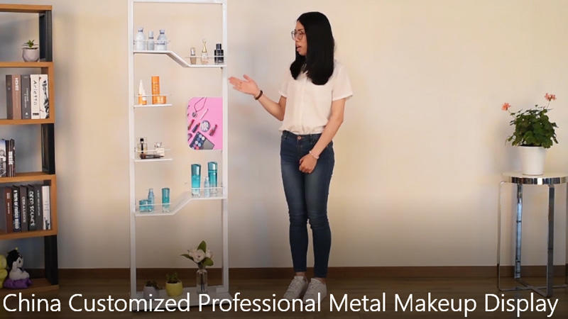 China Customized Professional Metal Makeup Display
