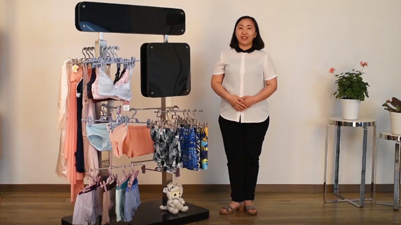 Custom Underwear Display Stand For Clothing Store-YISHANG