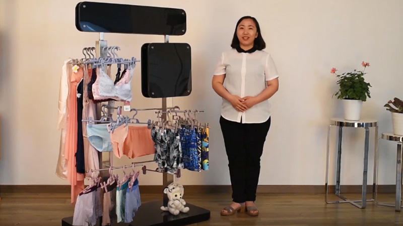 Custom Underwear Display Stand For Clothing Store