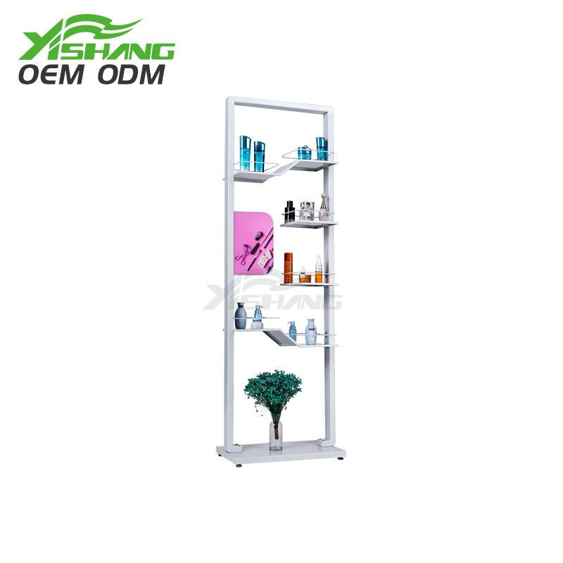 Custom Design Makeup Cosmetic Shelves Display Rack Ideas