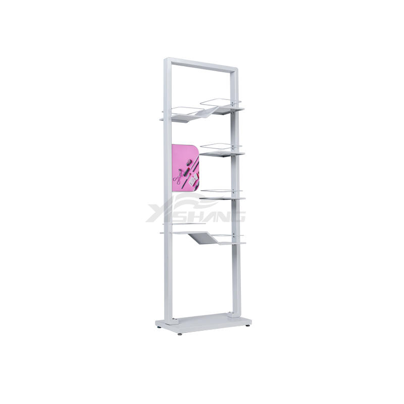 Custom Design Makeup Cosmetic Shelves Display Rack Ideas