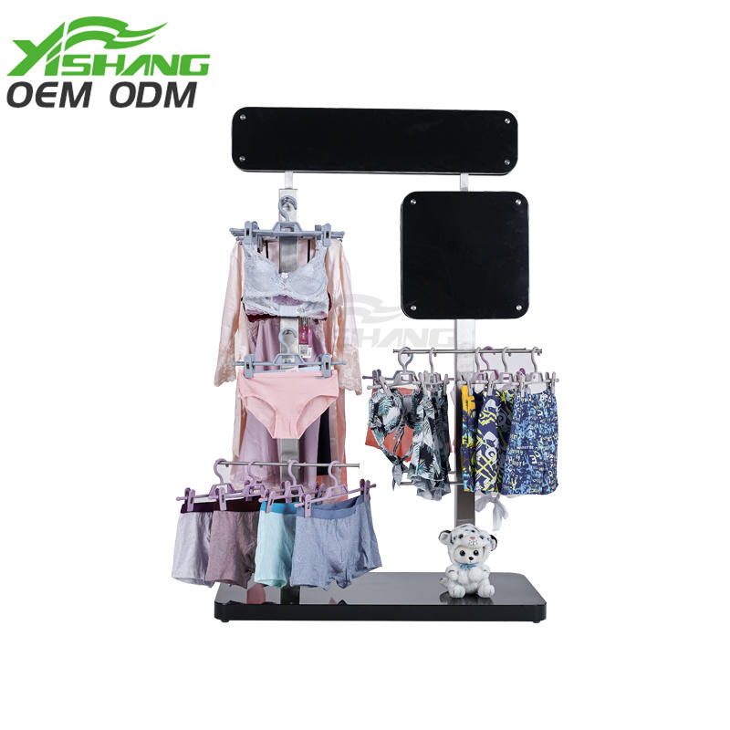 Custom Clothing Underwear Bra Briefs Display Stand