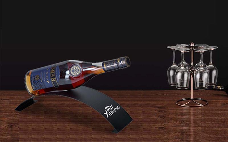 display sshaped wine display rack wine YISHANG company