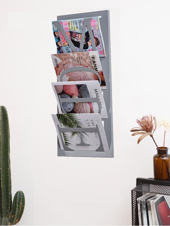 YISHANG -Best Wall Mounted Metal Magizine Display Rack -Yishang-4