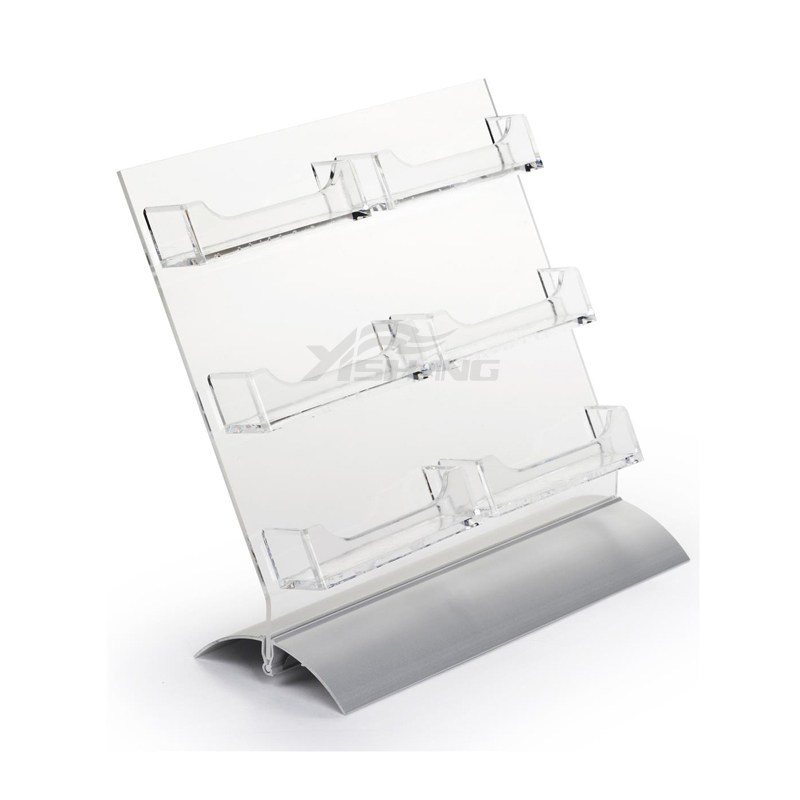 YISHANG -Greeting Card Display Custom 6-pocket Business Card Holder For Desk Ys-1100013-1