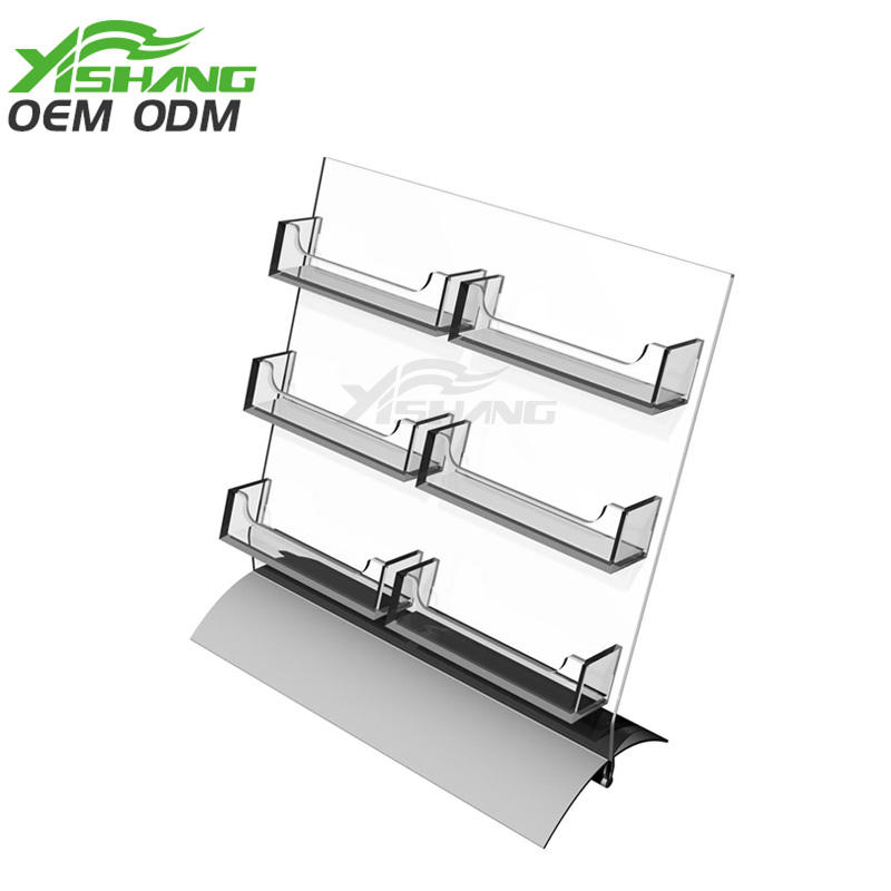 Hot card display rack 6pocket YISHANG Brand