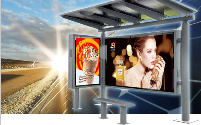 led led lightbox metal advertising YISHANG company