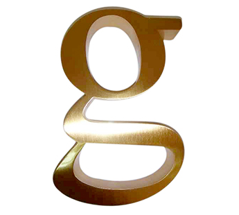 YISHANG -Large Metal Letters And Numbers For Signs Ys-1300007 | Metal Letters For-1