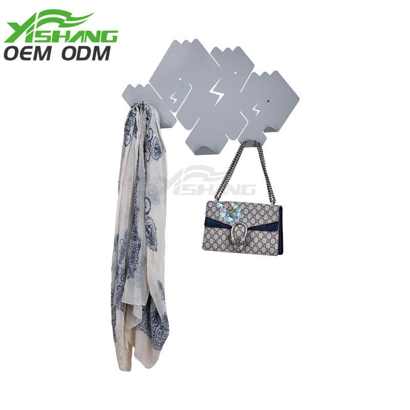 shelf home metal storage wall-mounted organizer YISHANG