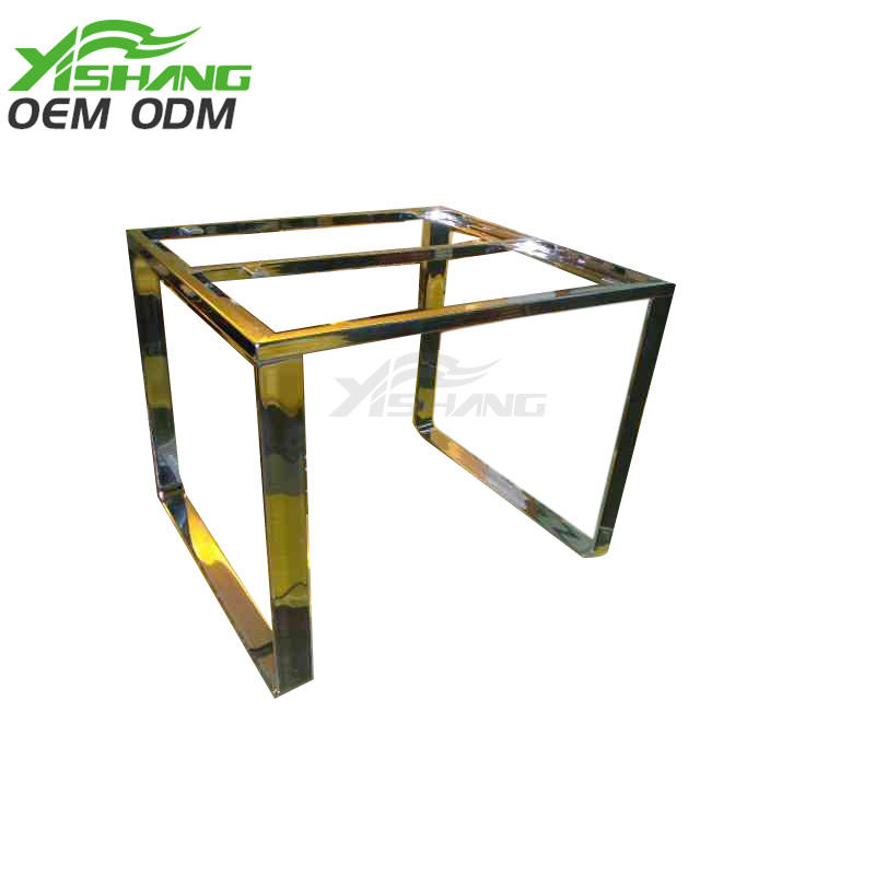 Custom Gold Metal Steel Frames Fabrication YS-2100128