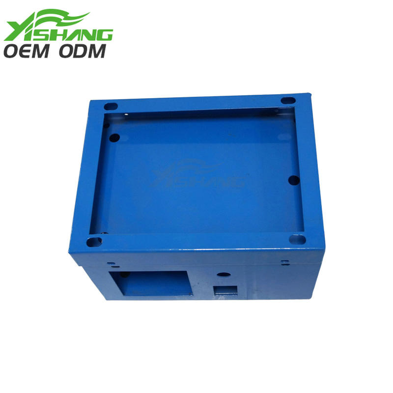 Custom Small Powder Coated Sheet Metal Box Case