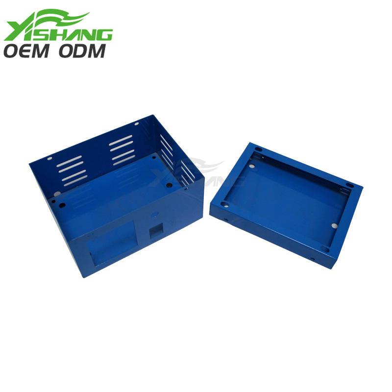 Custom Small Powder Coated Sheet Metal Box Case