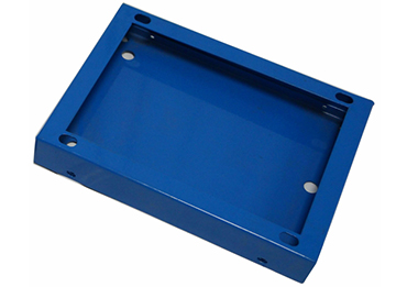 YISHANG -Custom Small Powder Coated Sheet Metal Box Factory Ys-2100098 | Aluminum-1
