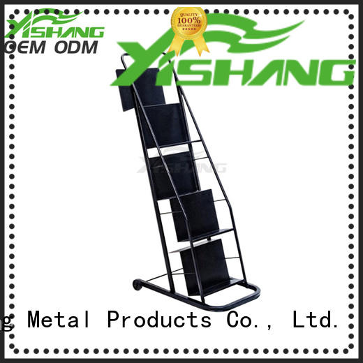 YISHANG tiers book display stand rack for sale