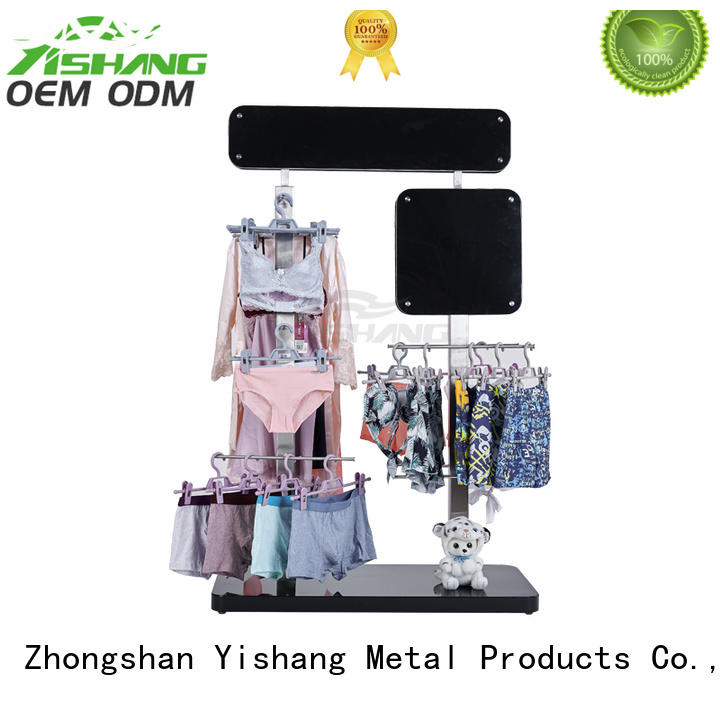 YISHANG underwear clothing racks for sale manufacturer for shopping mall