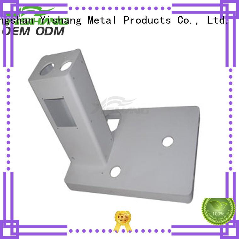 custom metal frame gold welding metal parts YISHANG Brand