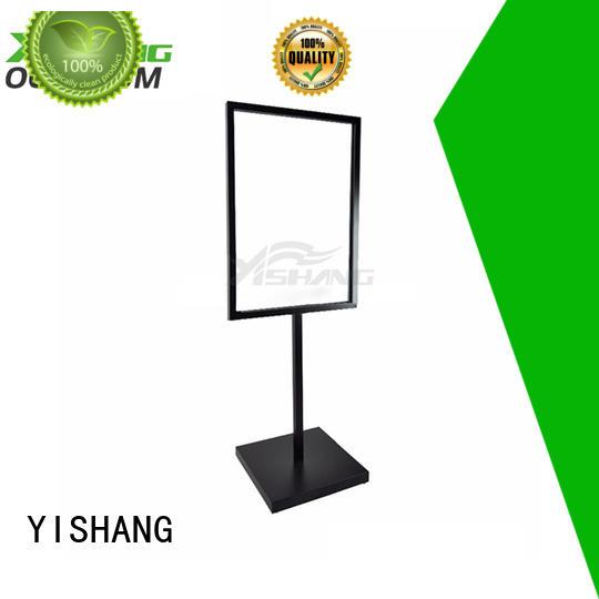 display table advertising sign holder YISHANG