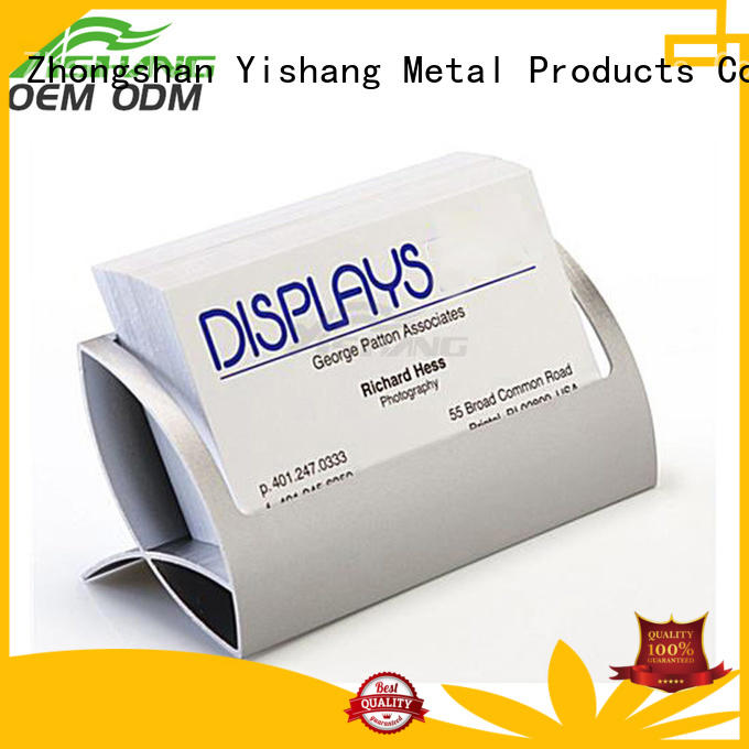 YISHANG holder business card display visiting for office