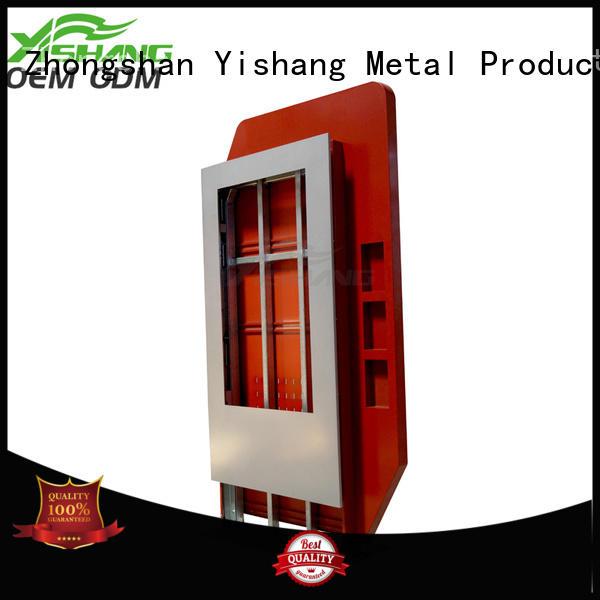 YISHANG indoor light box display enclosure for shopping mall