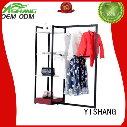 metal garment rack shops concise rack Warranty YISHANG