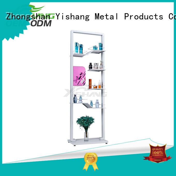 professional makeup display shelves for supermarket
