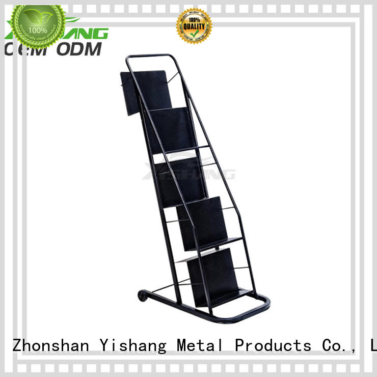 rack mounted magizine YSIHANG Brand metal book rack manufacture