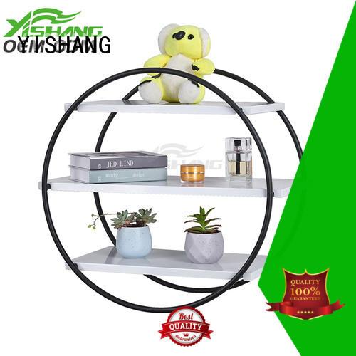 shelf organizer metal wall organizer YISHANG Brand