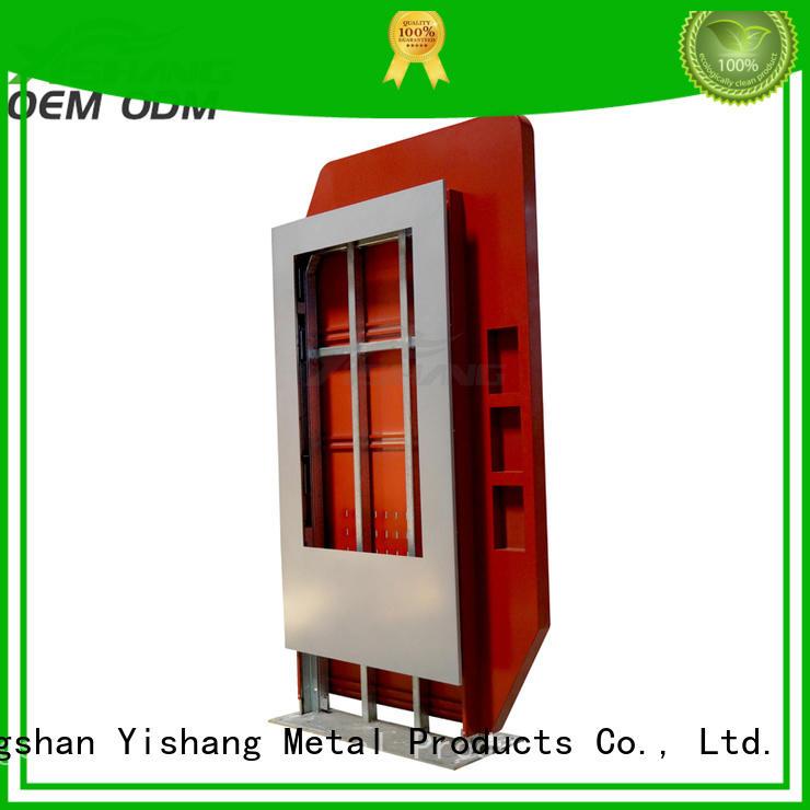 YISHANG metal led lightbox white for plaza