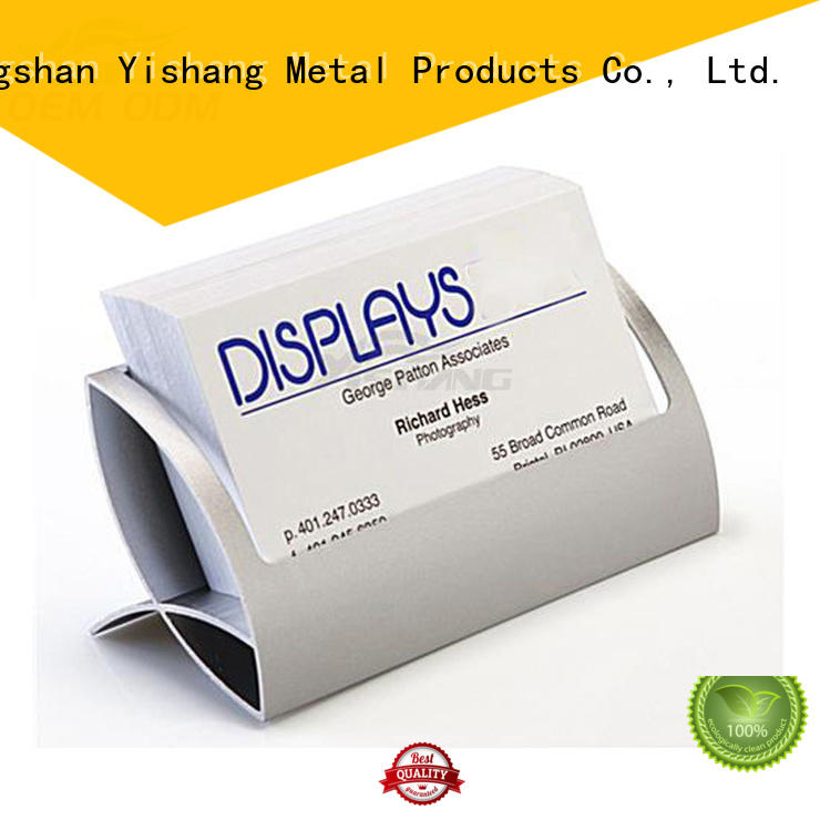holder name card business greeting card display YISHANG