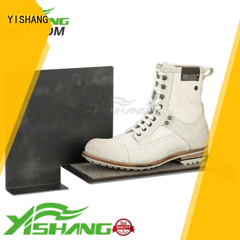 counter shoe display shelves manufacturer for collection