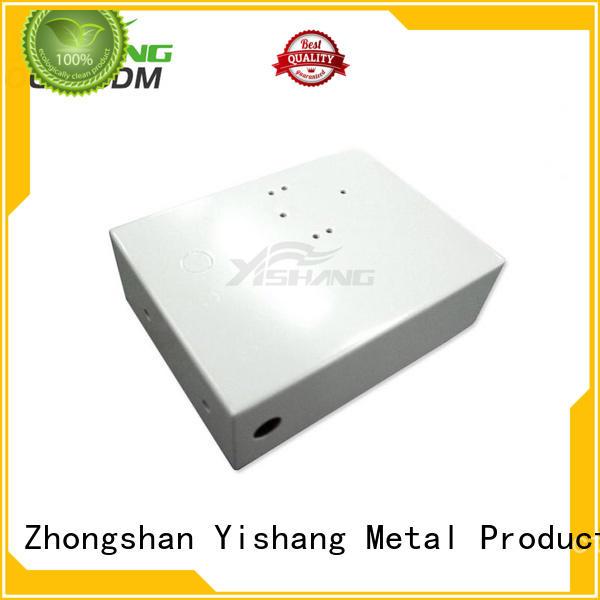 stainless steel enclosure powder small metal enclosure YISHANG Brand