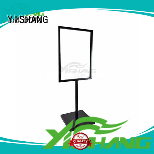 sign holder customization service for sale YISHANG
