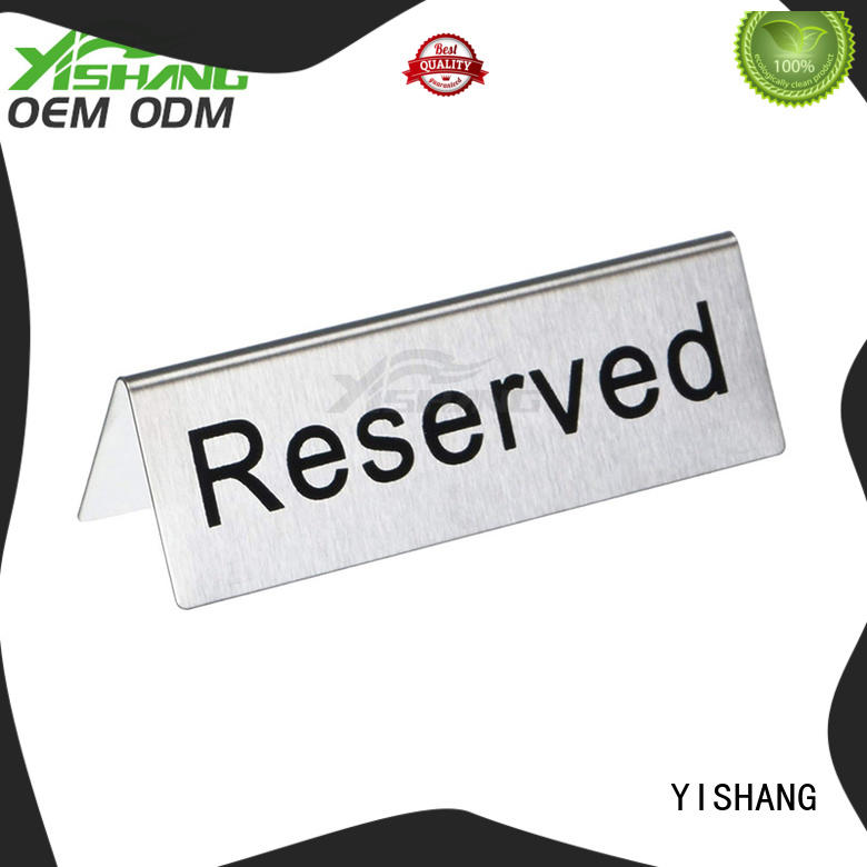 YISHANG poster display customization service for restaurant