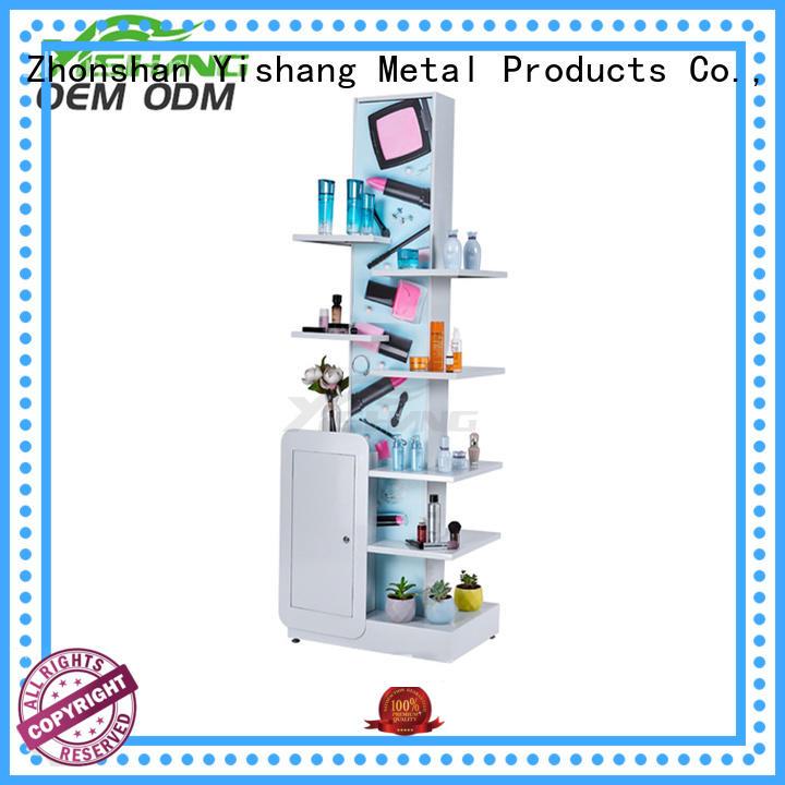 metal professional YSIHANG Brand makeup display stand