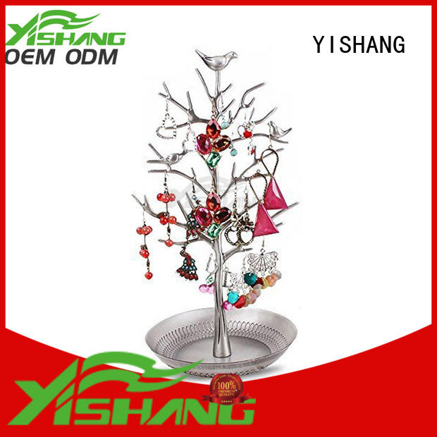 jewelry displays wholesale metal necklace holder YISHANG Brand