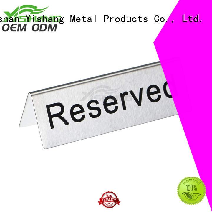 YISHANG Brand floor display metal sign sign holder