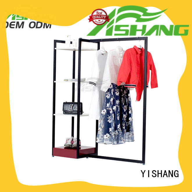 metal retail clothing racks manufacturer for shopping mall