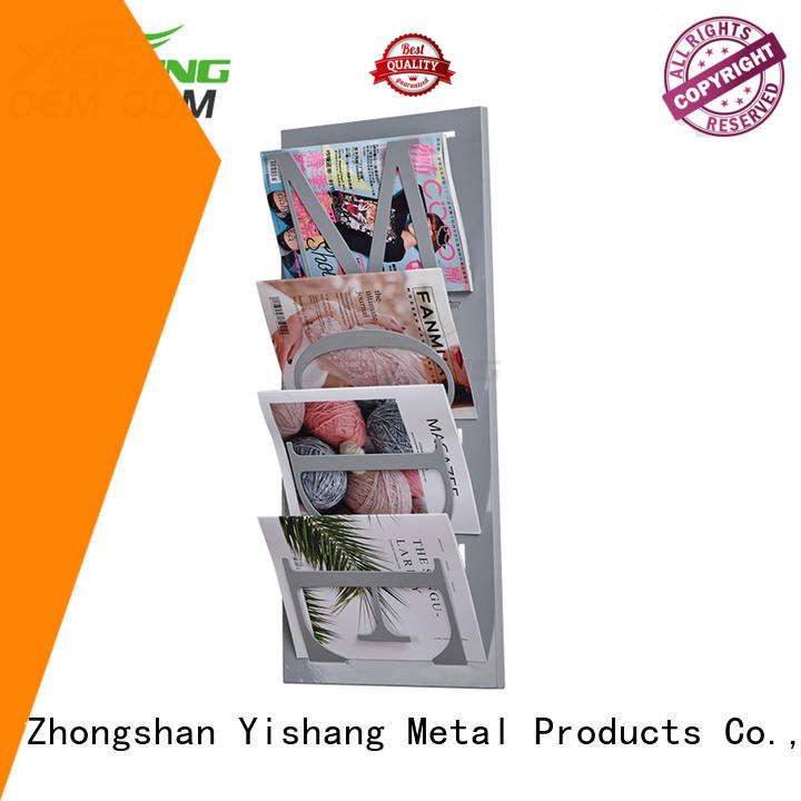 Wholesale magizine book display YISHANG Brand