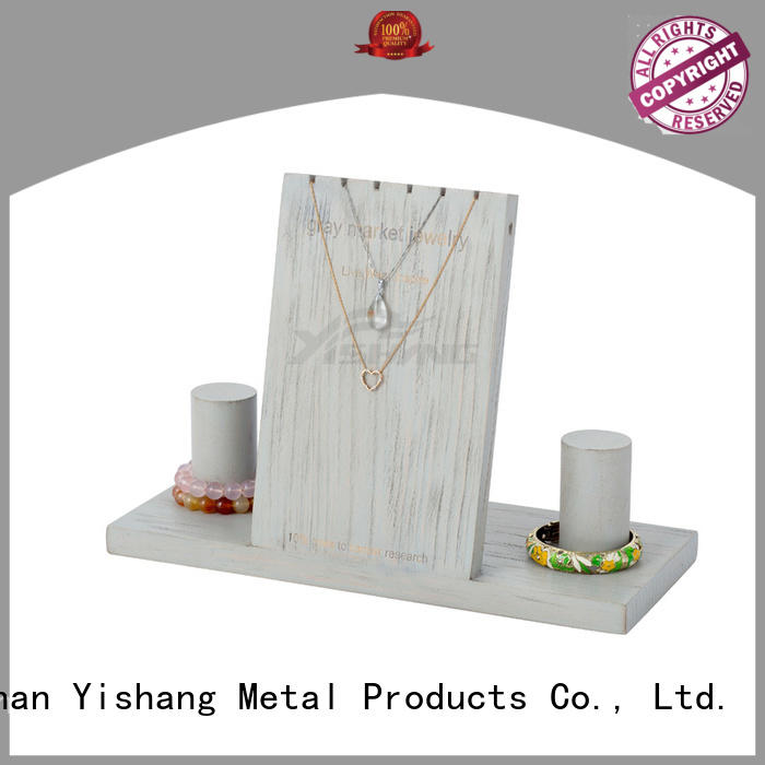 jewelry displays wholesale decorative wood necklace Warranty YSIHANG