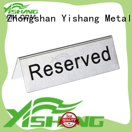 YISHANG sign stand customization service for signage companies