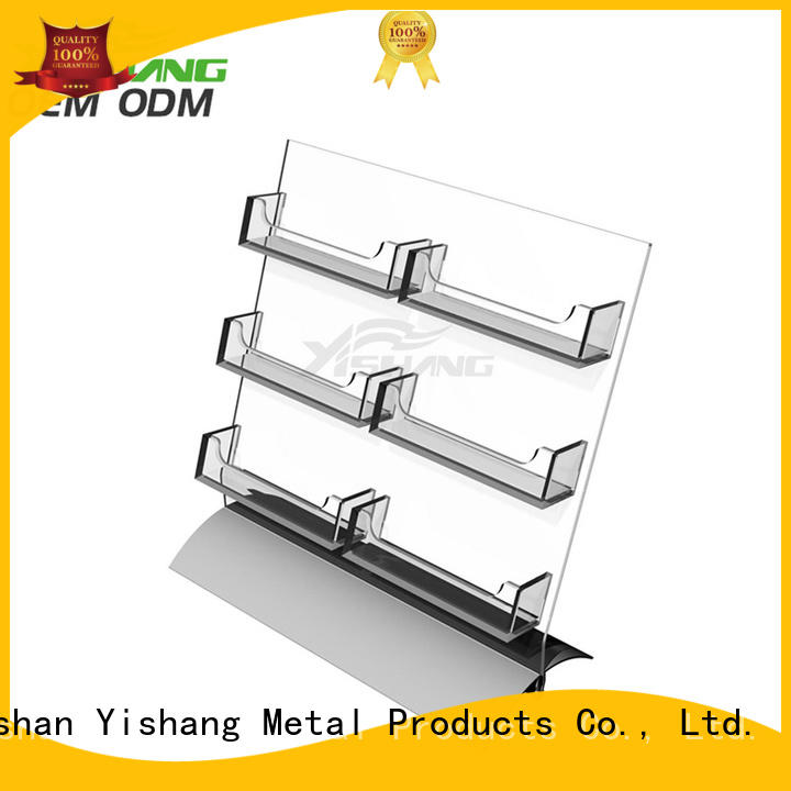 YISHANG business card display supplier for work