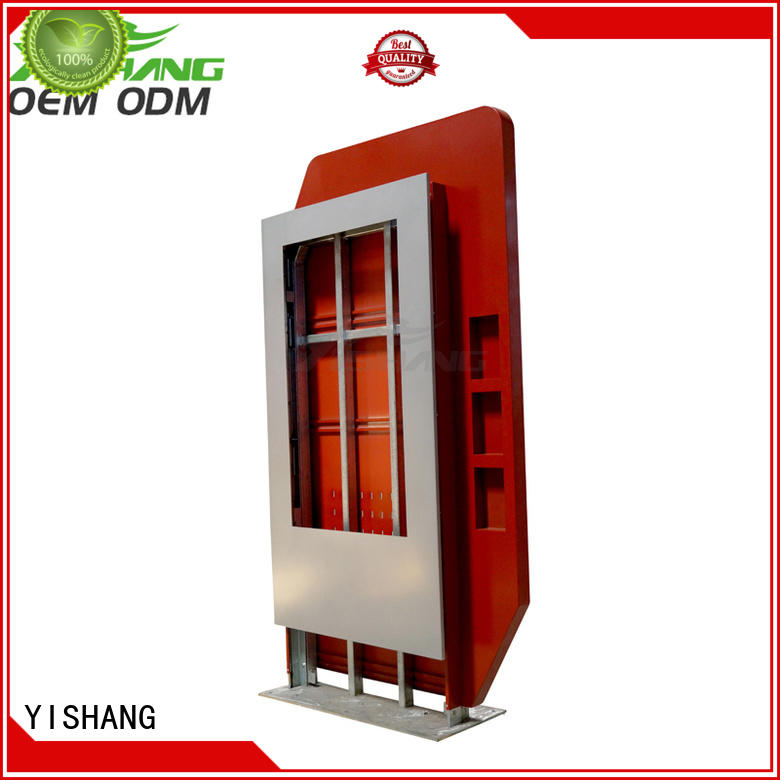 YISHANG led lightbox enclosure for shopping mall
