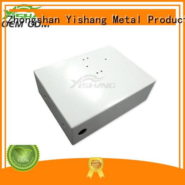 YISHANG enclosures custom aluminum enclosure electric powder for shopping mall