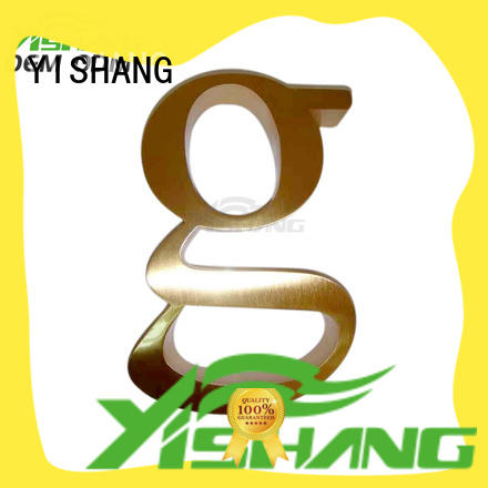 YISHANG metal letters online for wall