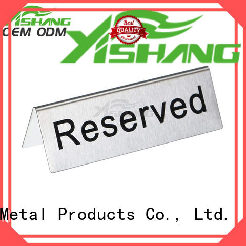 YISHANG etal sign stand online for signage companies